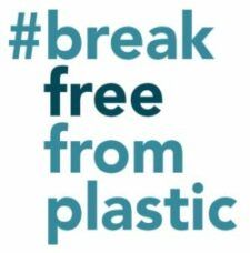 break free from plastic logo
