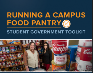 Running an on-campus food pantry