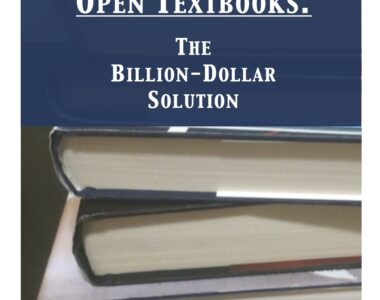 Open Textbooks: The Billion Dollar Solution